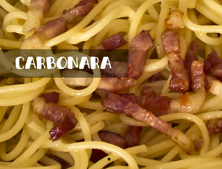 Carbonara - the better fastfood